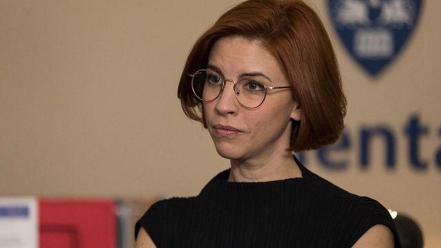 Eyeglasses worn by Anne Carlson (Danielle Kind) in Workin' Moms (S03E02)