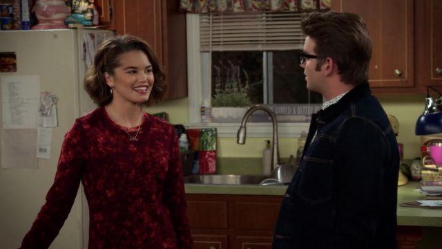 Red dress worn by Alexa Mendoza (Paris Berelc) in Alexa & Katie (S02E07)