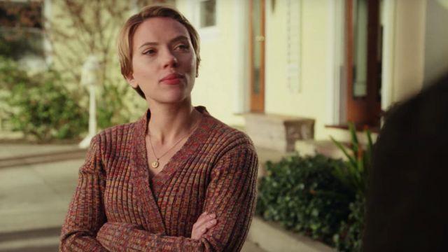 Cardigan worn by Nicole (Scarlett Johansson) as seen in Marriage Story
