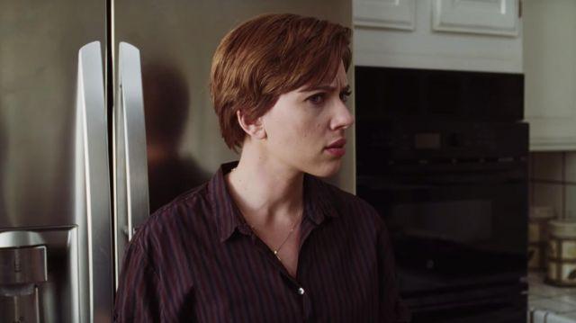Striped shirt worn by Nicole (Scarlett Johansson) as seen in Marriage Story