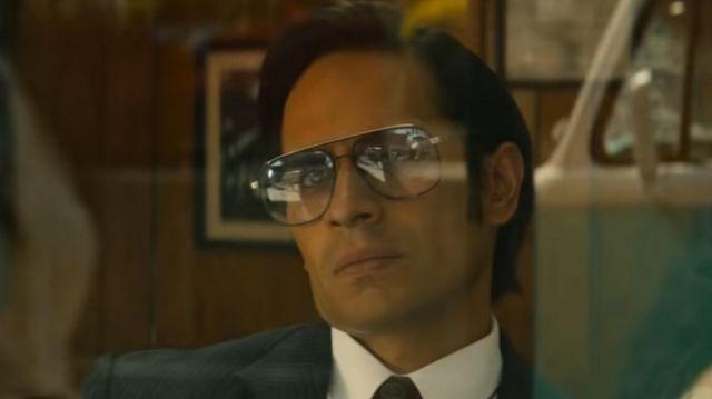 Sunglasses worn by Horacio Garcia Rojas (Tomás Morlet) in Narcos: Mexico (S01E10)