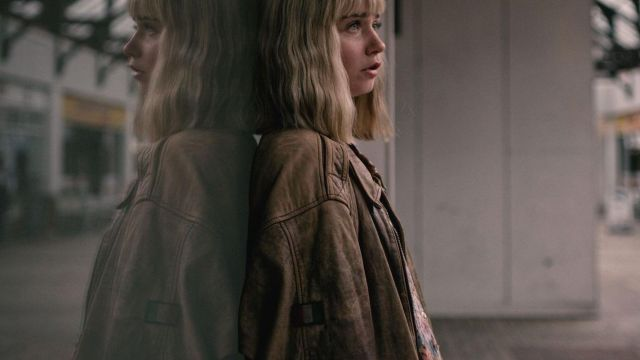 Leather jacket worn by Alyssa (Jessica Barden) in The End of the F***ing World