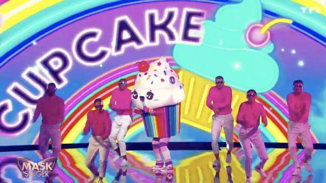 La paire de baskets portée par Cupcake dans Mask Singer