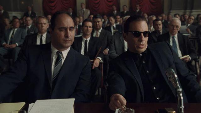 Sunglasses worn by Crazy Joe / Joseph Gallo (Sebastian Maniscalco) as seen in The Irishman