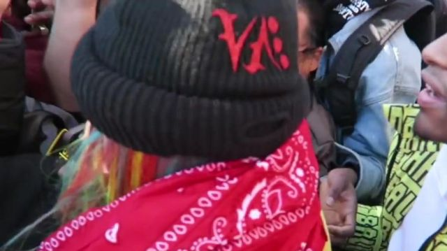 """Ski mask worn by 6ix9ine as seen in Teka$hi69 arrested during """"BILLY"""" music video shoot!!!"""