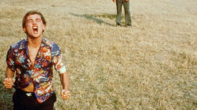 Floral shirt worn by Romeo (Leonardo DiCaprio) as seen in Romeo + Juliet
