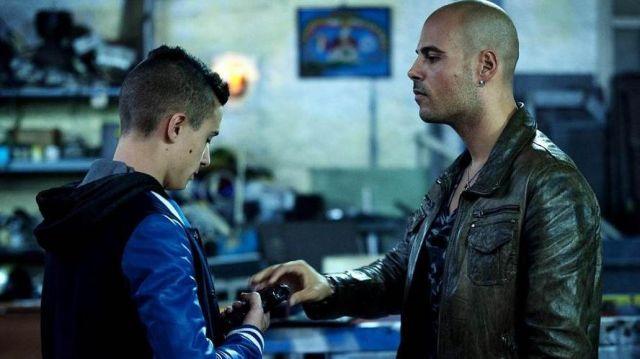 La veste cuir marron portée par Ciro Di Marzio (Marco D'Amore) dans Gomorra (saison 1 épisode 9)