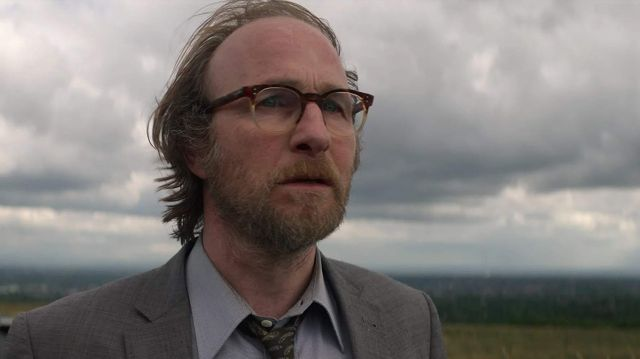 Eyeglasses worn by Patrick Katz (Paul Kaye) as seen in The Stranger (S01E07)