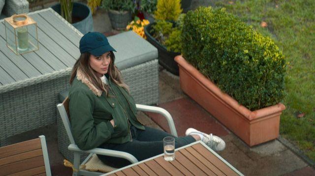 Blue cap hat worn by The Stranger (Hannah John-Kamen) as seen in The Stranger (S01E01)