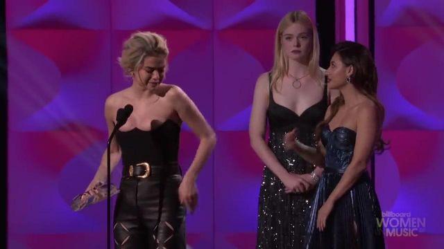 Le body porté par Selena Gomez lors de la cérémonie Billboard's Women in Music 2017