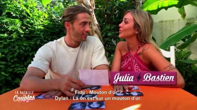 Le top bandana portée par Fidji dans La Villa des Cœurs Brisés, la bataille des couples