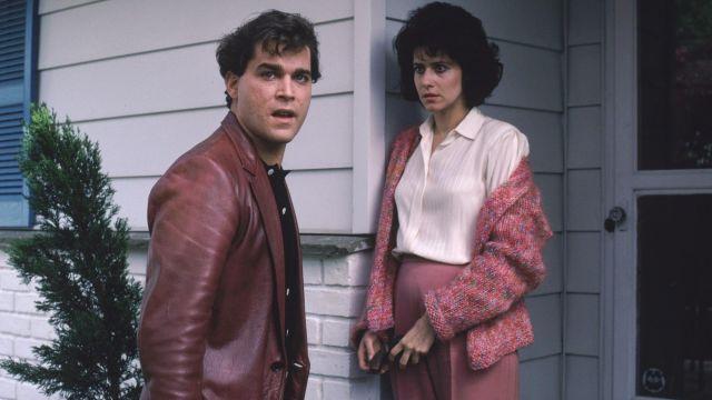 Leather blazer jacket worn by Henry Hill (Ray Liotta) in GoodFellas