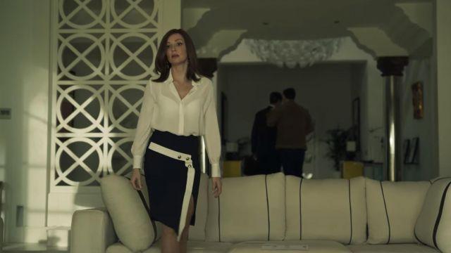 Skirt worn by Macarena Medina de Solís (Cristina Castaño) as seen in Toy Boy (S01E11)