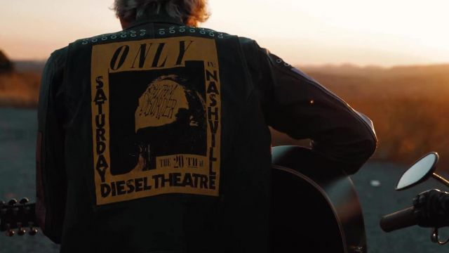Leather Jacket worn by Machine Gun Kelly in Bloody Valentine Acoustic music video