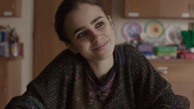 Sweater worn by Ellen (Lily Collins) as seen in To the Bone