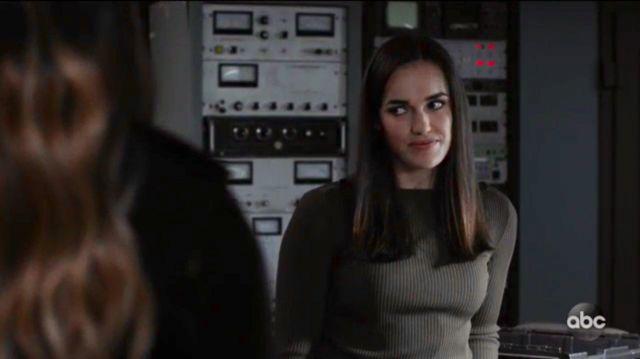 Sweater worn by Jemma Simmons (Elizabeth Henstridge) in Marvel's Agents of S.H.I.E.L.D. (Season 7 Episode 10)
