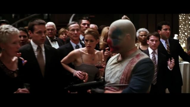 Joker Thug Suit or Vest(white,red) of Chuckles (Matthew O'Neill) in The Dark Knight