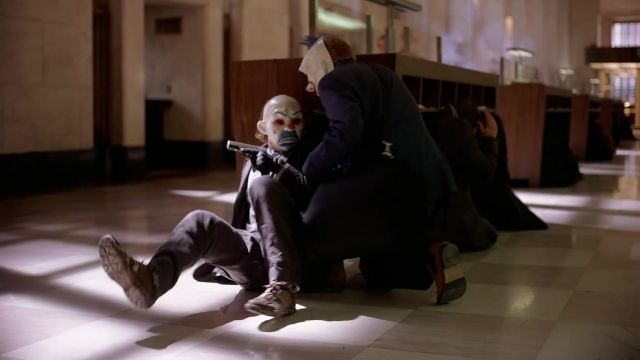 Joker Heist Shoes of Joker (Heath Ledger) in The Dark Knight