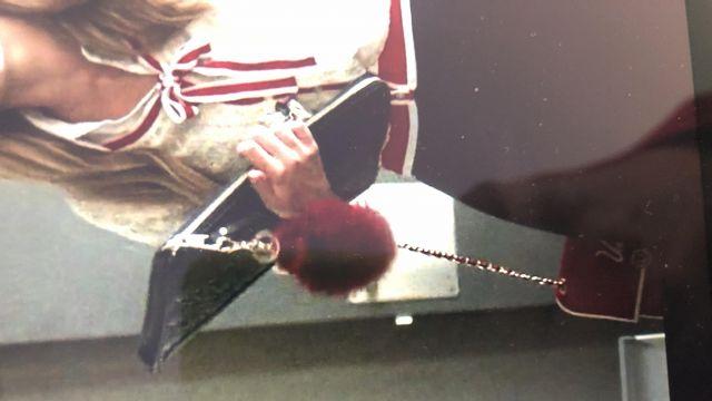 Designer Red Mini Bag  worn by Carla Rohson Ester Expósito in Elite