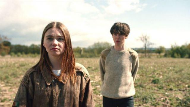 Leather Jacket worn by Alyssa (Jessica Barden) in The End of the F***ing World (Season 1 Episode 3)