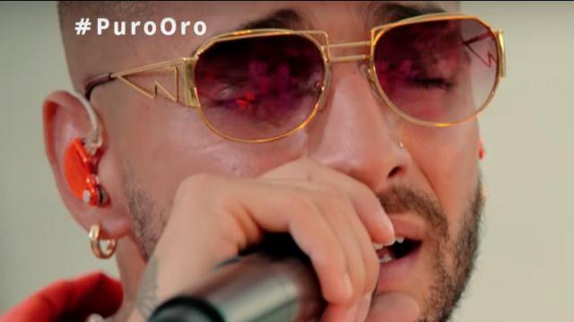 Sunglasses (Lunettes de soleil) de Maluma dans Maluma - ADMV (Live From Michelob ULTRA Pure Golden Hour Sessions)