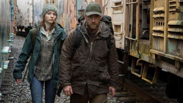 Brown outer jacket, worn by Will (Ben Foster) in Leave No Trace