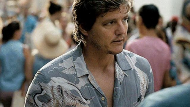 Pedro Pascal's shirt from Triple Frontier