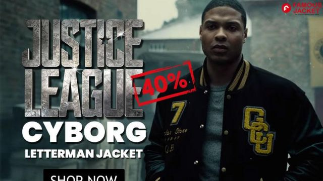 Cyborg / Victor Stone Zack Snyder's Justice League Ray Fisher Jacket Men worn by Cyborg / Victor Stone (Ray Fisher) in Justice League