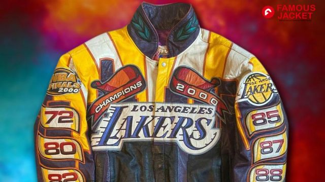 Los Angeles Lakers Championship Jacket worn by Self (Phil Jackson) in 2008-2009 NBA Champions - Los Angeles Lakers