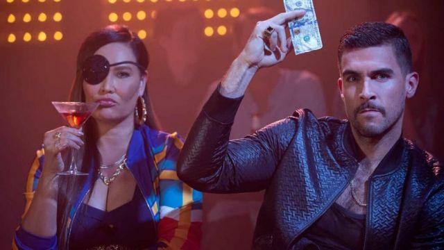 Leather Jacket of Damien Sanchez (Josh Segarra) in AJ and the Queen (S01E03)