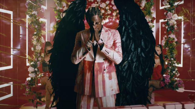 Watch worn by Young Thug in Way 2 Sexy Official Music Video by Drake ft. Future and Young Thug