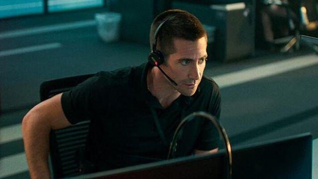 Headset used by Joe Baylor (Jake Gyllenhaal) as seen in The Guilty movie