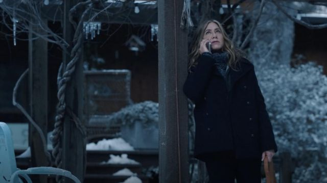 Coat worn by Alex Levy (Jennifer Aniston) as seen in The Morning Show TV series (Season 2 Episode 1)