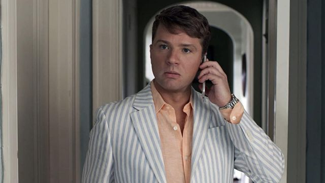 Striped Blazer Jacket worn by Tanner / Lord Wadsworth (Ryan Phillippe) as seen in Lady of the Manor movie outfits
